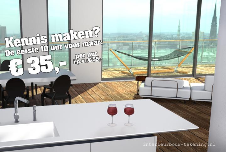 Het tekenbureau voor de interieurbouw werkt veel voor architecten, binnenhuis architecten, ontwerpers en interieurbouwers. Hierbij vertalen we wat een architect of ontwerper bedoelt naar iets wat ook echt gebouwd kan […]