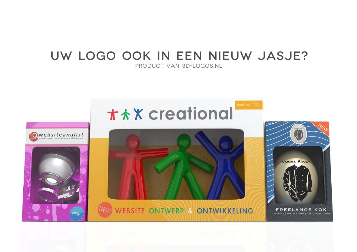 Full service ontwerpbureau van 3d logo's voor het web, drukwerk en animatie. 3d-logos.nl maakt exclusieve en spraakmakende logo's nu voor iedereen mogelijk. Ook wanneer uw bedrijf of vereniging al beschikt […]