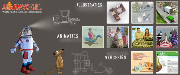 De Alarmvogel is een animatie productiebedrijf bestaande uit Herman den Brinker en Carolien Bijvoet.We maken onafhankelijke animatiefilms en animaties in opdracht. Onze specialiteit is (3D)karakteranimatie met humor.Verder maken we ook […]